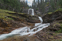 Virginia Falls Glacier National Park Montana