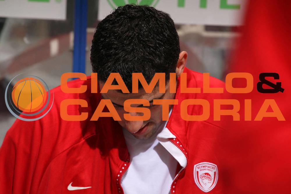 DESCRIZIONE : Siena Eurolega 2010-11 Playoffs Gara 4 Montepaschi Siena Olympiacos<br /> GIOCATORE : Ioannis Bourousis<br /> SQUADRA : Olympiacos<br /> EVENTO : Eurolega 2010-2011<br /> GARA : Montepaschi Siena Olympiacos<br /> DATA : 31/03/2011<br /> CATEGORIA : ritratto delusione<br /> SPORT : Pallacanestro <br /> AUTORE : Agenzia Ciamillo-Castoria/ElioCastoria<br /> Galleria : Eurolega 2010-2011<br /> Fotonotizia : Siena Eurolega 2010-11 Playoffs Gara 4 Montepaschi Siena Olympiacos<br /> Predefinita :