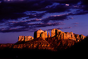Color Infrared photo of Castle Rock, Sedona, Arizona