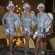 NLD/Rotterdam/20131216 - Society Lunch Silver Bells Christmas, FaFa Danseressen