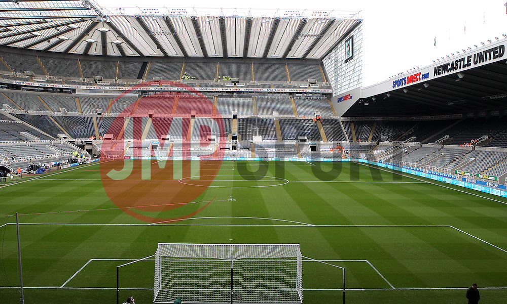 St James Park, home of Newcastle United - Mandatory byline: Robbie Stephenson/JMP - 20/03/2016 - FOOTBALL - ST James Park - Newcastle, England - Newcastle United v Sunderland - Barclays Premier League