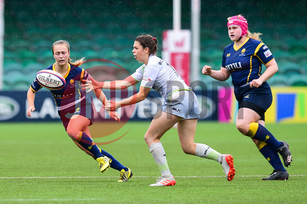 Helena Rowland of Saracens Ladies in action - Mandatory by-line: Craig Thomas/JMP - 30/09/2017 - RUGBY - Sixways Stadium - Worcester, England - Worcester Valkyries v Saracens Women - Tyrrells Premier 15s