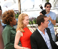 Macy Gray, Nicole Kidman, Matthew Mcconaughey,  at The Paperboy photocall at the 65th Cannes Film Festival France. Thursday 24th May 2012 in Cannes Film Festival, France.