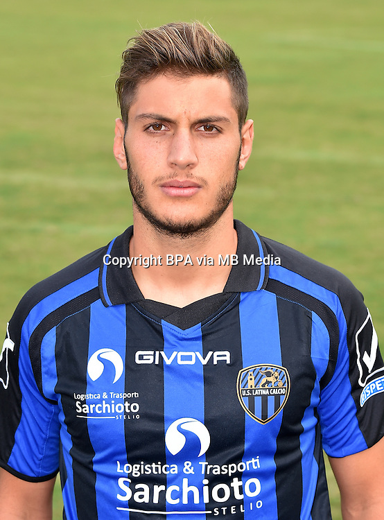Italian League Serie B_2015-2016 / <br /> ( U. S. Latina Calcio ) -  <br /> Filippo Bandinelli