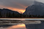 First Sunrise - Banff, Alberta