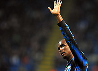 Samuel Eto'o (Inter) <br /> Inter Tottenham - UEFA Champions League 2010-2011<br /> Stadio San Siro, Milano, 20/10/2010<br /> © Giorgio Perottino / Insidefoto