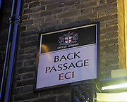 Rudest Place Names In Britain<br /> London<br /> ©Exclusivepix Media
