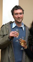 MR ALEX SAINSBURY son of the Hon.Sir Tim Sainsbury at an exhibition of work by Daniel Chadwick held at Beaux Art, Cork Street, London on 1st February 2005.<br />