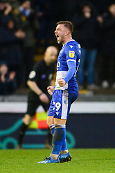 Josh Barrett of Bristol Rovers celebrates on the final whistle - Mandatory by-line: Dougie Allward/JMP - 15/02/2020 - FOOTBALL - Memorial Stadium - Bristol, England - Bristol Rovers v Blackpool - Sky Bet League One