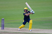Will Smith of Hampshire batting during the Royal London One Day Cup match between Hampshire County Cricket Club and Somerset County Cricket Club at the Ageas Bowl, Southampton, United Kingdom on 2 August 2016. Photo by David Vokes.