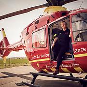Jo Bailey of Midlands Air Ambulance