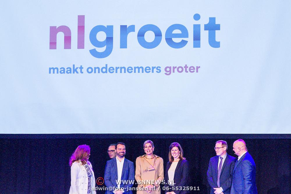 NLD/Rotterdam/20160113 - NL Groeit 2015, Konining Maxima