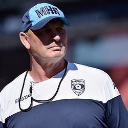 Vern Cotter of Montpellier during the French Top 14 match between Lyon OU and Montpellier Herault Rugby on September 15, 2018 in Lyon, France. (Photo by Romain Lafabregue/Icon Sport)