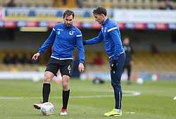 Edward Upson of Bristol Rovers during the warm up - Mandatory by-line: Arron Gent/JMP - 07/03/2020 - FOOTBALL - Roots Hall - Southend-on-Sea, England - Southend United v Bristol Rovers - Sky Bet League One