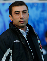 Photo: Steve Bond/Richard Lane Photography. Leicester City v West Bromwich Albion. Coca Cola Championship. 07/11/2009. West Brom Roberto Di Matteo before the game