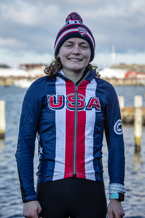 at the 2019 UCI Cyclo-Cross World Championships in Bogense, Denmark