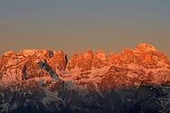 #trentinoskisunrise, ad Andalo cima Paganella, 6 febbraio 2016 © foto Daniele Mosna