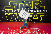 The European Premiere of STAR WARS: THE FORCE AWAKENS - Odeon, Empire and Vue Cinemas, Leicester Square, London.
