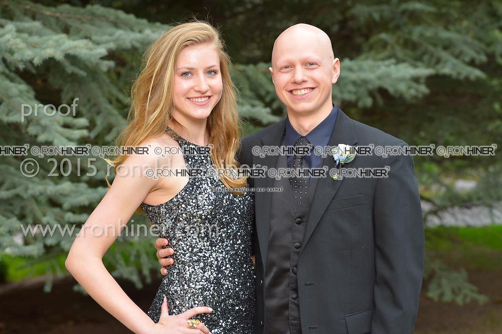 Vail Mountain School Prom Night; Larkin Armbruster, Tommy Miller