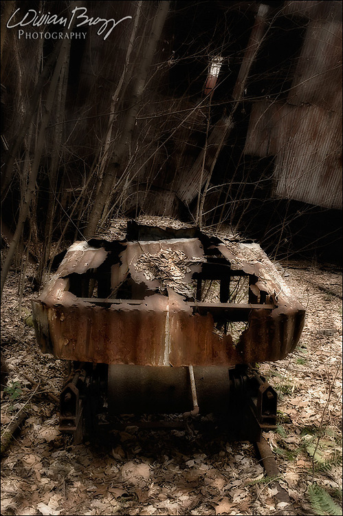 Devil's Gurney - an unknown 20th century coal transport device found in the 'hollows' of West Virginia.