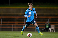 SYDNEY, AUSTRALIA - AUGUST 07: Sydney FC player Joel King (16) controls the ball during the FFA Cup round of 32 football match between Sydney FC and Brisbane Roar FC on August 07, 2019 at Leichhardt Oval in Sydney, Australia. (Photo by Speed Media/Icon Sportswire)