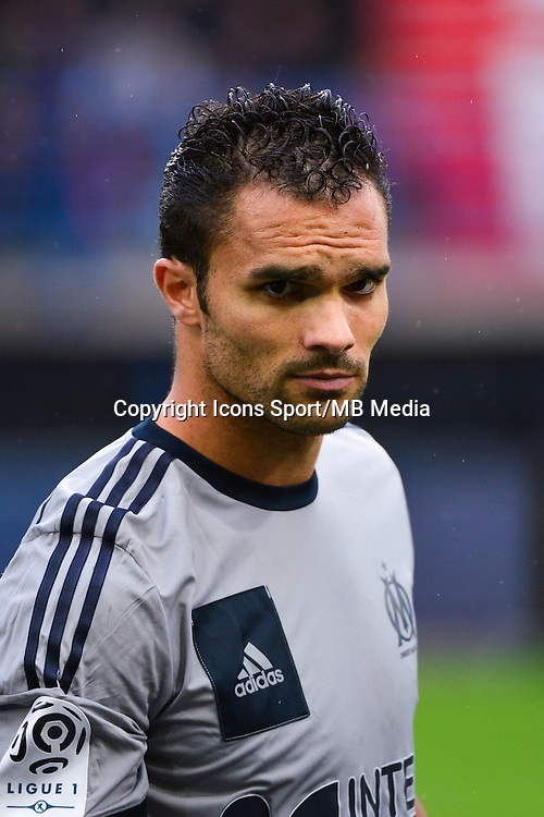 Jeremy MOREL - 04.10.2014 - Caen / Marseille - 9eme journee de Ligue 1 <br /> Photo : Dave Winter / Icon Sport