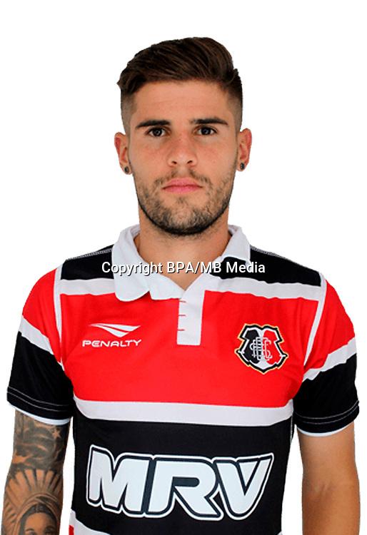 Brazilian Football League Serie B 2017 / <br /> ( Santa Cruz Futebol Clube ) - <br /> Federico Gino Acevedo Fagundez