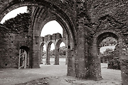 Started in 1180, Llanthony Priory today is an atmospheric set of ruins in Wales.