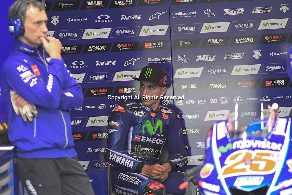 June 24th 2017, TT Circuit, Assen, Netherlands; MotoGP Grand Prix TT Assen, Qualifying Day; Maverick Vinales (Movistar Yamaha)during the qualifying sessions