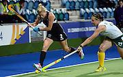Emily Naylor during a Black Sticks Women v South Africa preliminary pool match at the Glasgow National Hockey Stadium. Glasgow Commonwealth Games 2014. Monday 28 July 2014. Scotland. Photo: Andrew Cornaga/www.Photosport.co.nz