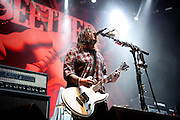 Seether performing at the Van Andel Arena in Grand Rapids, MI on the Uproar Tour on Sept. 20, 2011