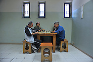 Roma (Italy), 21/04/2010: Corso di scacchi, sezione G14 infermeria del nuovo complesso di Rebibbia - Course of chess, first aid section G14 of the new complex of Rebibbia