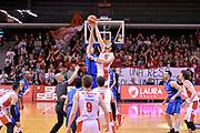 Riccardo Cervi<br /> Grissin Bon Pallacanestro Reggio Emilia - Germani Basket Leonessa Brescia<br /> Lega Basket Serie A 2016/2017<br /> Reggio Emilia, 27/03/2017<br /> Foto M.Ceretti / Ciamillo - Castoria