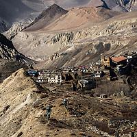 Chris Conroy and Euan Wilson riding near Muktinath, Nepal. Shot during the 2015 Yeti Tribe gathering.