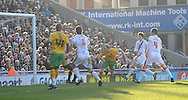 London - Friday, December 26th, 2008: Gary Doherty of Norwich City scores the equaliser to make it 1 - 1 during the Coca Cola Championship match at Selhurst Park, London. (Pic by Alex Broadway/Focus Images)