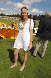 LADY TATIANA MOUNTBATTEN at the final of the Veuve Clicquot Gold Cup 2007 at Cowdray Park, West Sussex on 22nd July 2007.<br />
