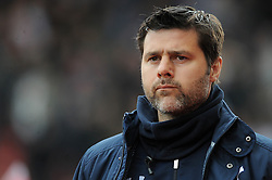 Tottenham Hotspur Manager, Mauricio Pochettino - Photo mandatory by-line: Dougie Allward/JMP - Mobile: 07966 386802 - 09/05/2015 - SPORT - Football - Stoke - Britannia Stadium<br />  - Stoke v Tottenham Hotspur - Barclays Premier League