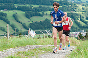 Laufer am 28. Berglauf Malters-Schwarzenberg-Mösere