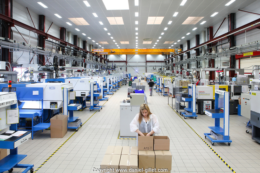 Reportage industrie plasturgique Plastibell (Groupe DTP), Izernore, Plastic Vallee