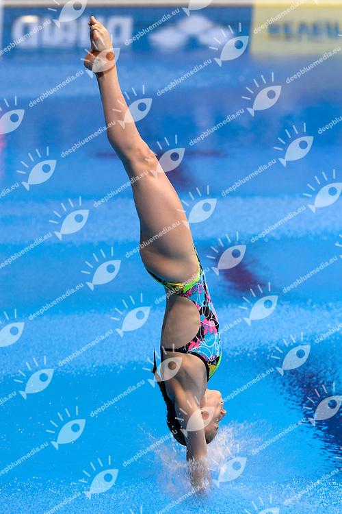 MARINO Laura FRA France <br /> Team Event Final <br /> London, Queen Elizabeth II Olympic Park Pool <br /> LEN 2016 European Aquatics Elite Championships <br /> Diving  <br /> Day 01 20160509<br /> Photo Andrea Staccioli/Deepbluemedia/Insidefoto