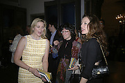 KIM CATTRALL, MARF AND ALICE TEMPERLEY, Royal  Academy of  Arts summer exhibition opening night. Royal academy. Piccadilly. London. 6 June 2007.  -DO NOT ARCHIVE-© Copyright Photograph by Dafydd Jones. 248 Clapham Rd. London SW9 0PZ. Tel 0207 820 0771. www.dafjones.com.