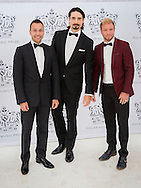 Stockholm , 16-06-2016<br /> <br /> King Carl Gustaf and Queen Silvia, Crown Princess Victoria and Prince Daniel and Prince Carl Philip and Princess Sofia attend the Polar Music Prize 2016 Ceremony<br /> <br /> <br /> Backstreet Boys : Howard Dorough, Brian Littrell, Kevin Richardson <br /> <br /> COPYRIGHT:ROYALPORTRAITS EUROPE/BERNARD RUEBSAMEN
