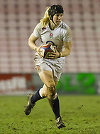 Tamara Taylor in action, England Women v Scotland Women in the 6 Nations at Northern Echo Arena, Darlington, England, on 13th March 2015