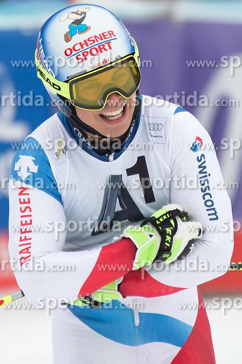 28.02.2016, Hannes Trinkl Rennstrecke, Hinterstoder, AUT, FIS Weltcup Ski Alpin, Hinterstoder, Riesenslalom, Herren, 2. Lauf, im Bild Gino Caviezel (SUI) // Gino Caviezel of Switzerland reacts after his 2nd run of men's Giant Slalom of Hinterstoder FIS Ski Alpine World Cup at the Hannes Trinkl Rennstrecke in Hinterstoder, Austria on 2016/02/28. EXPA Pictures © 2016, PhotoCredit: EXPA/ Johann Groder