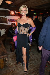 CAROLINE FERADAY at Skiing With Heroes Junior Committee Awareness Party held at Bodo's Schloss, 2A Kensington High Street, London on 6th November 2014.