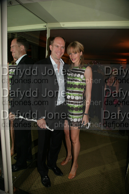 HARRY AND BODIL BLAIN, Beyond Belief-Damien Hirst. White Cube Hoxton and Mason's Yard.Party  afterwards at the Dorchester. Park Lane. 2 June 2007.  -DO NOT ARCHIVE-© Copyright Photograph by Dafydd Jones. 248 Clapham Rd. London SW9 0PZ. Tel 0207 820 0771. www.dafjones.com.