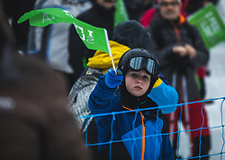 fans during FIS alpine snowboard world cup 2019/20 on 18th of January on Rogla Slovenia<br /> Photo by Matic Ritonja / Sportida