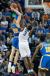 in the first half. <br /> <br /> The University of tKentucky hosted the University of California Los Angeles in a 2017 NCAA Division 1 Sweet 16 game, Friday, March 24, 2017 at FedExForum in Memphis.