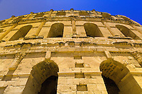 Roman Colosseum, El Jem, Tunisia