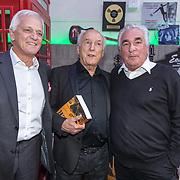 NLD/Hilversum/20181008 - Boekpresentatie autobiografie Peter Koelewijn, Peter Koelewijn en Ludo Voeten